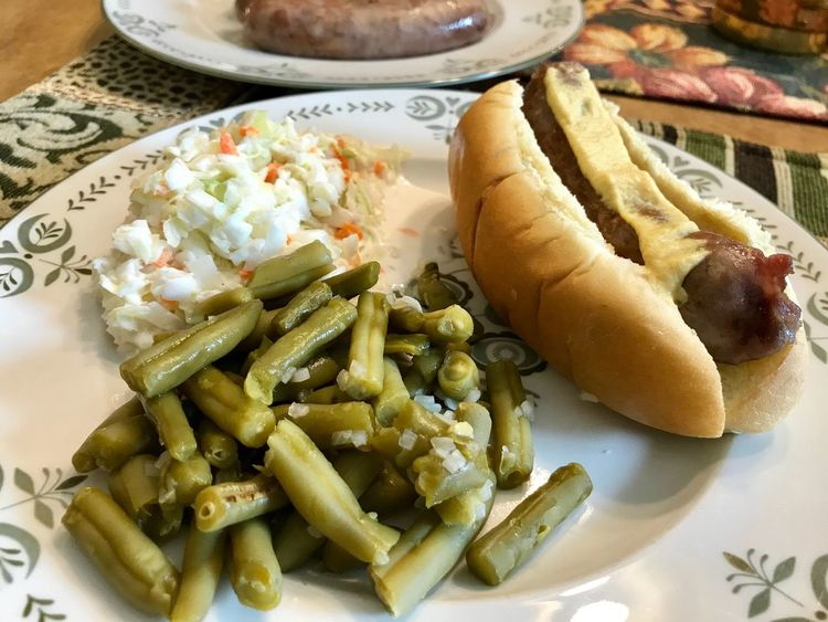 Johnsonville Brats Food Food And Drink Plate Ready-to-eat Freshness No People Serving Size Indoors  Healthy Eating Close-up Bread Day Johnsonville Brats