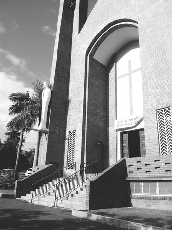 Cathedral. Street Photography Black&white Townsville, Australia. Blackandwhite Photography Blackandwhitephotography