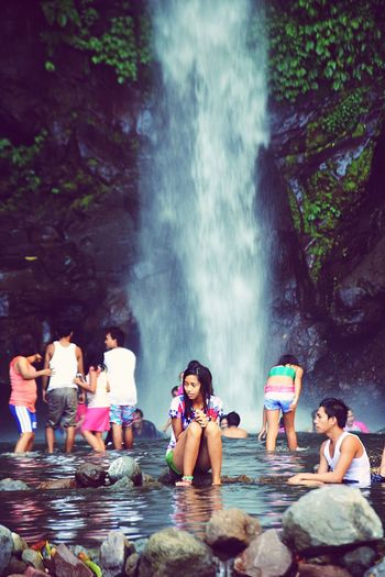 The Portraitist - 2016 EyeEm Awards The Essence Of Summer Waterfall Camiguin Relaxing Island Traveling Summer Adventures Summertime Enjoying Life Taking Photos Hello World Eyeem Philippines 2016 Vacation Islandlife Philippines Showcase June