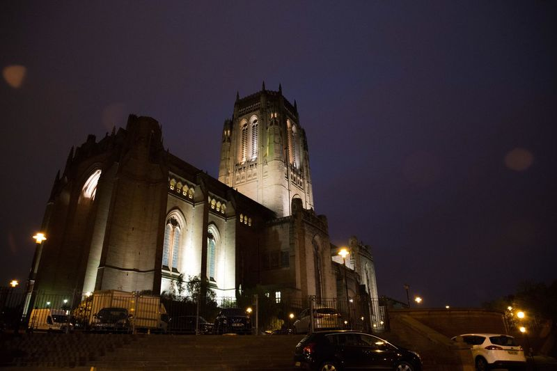 Liverpool Anglican Cathedral Night Photography