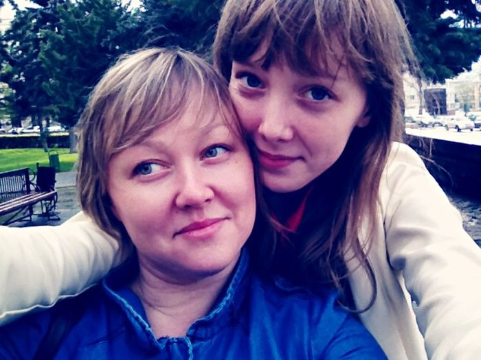 Buteful Goodday First Eyeem Photo EyeEm My Love ❤ Me And My Lovely Mom