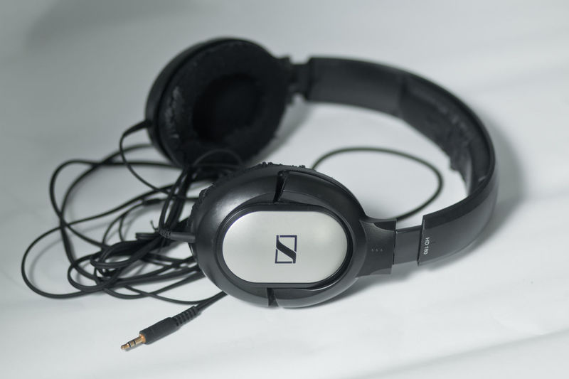 Audio Black & White Branded Gadgets Headphones Product Photography Recording Sound