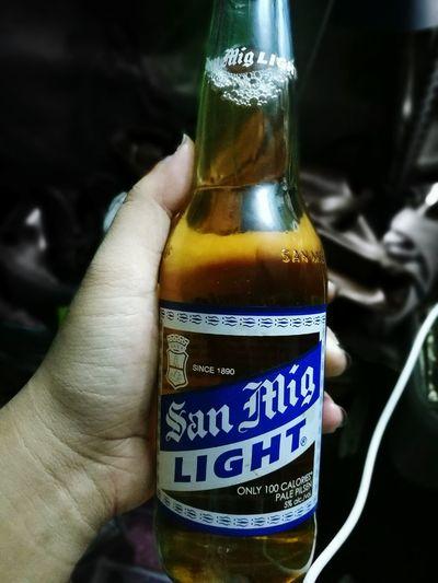 San mig light sa gabing malamig :) SoloFlight Pampatulog