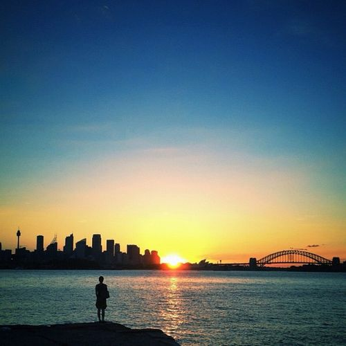 It's Rant Free Friday! Which is a shame really, because my photos get much fewer comments when I don't rant. Oh well. Here's another sunset from last night, with the always willing Mrs. Payne as model. #rantfreefriday #hatersgonnahate Lachlanpaynesydneyharbour Lachlanpayneawesomeamazingphotosbestinstagramereverfollowmenow Lachlanpayne25 Paynestagram Rantfreefriday Hatersgonnahate