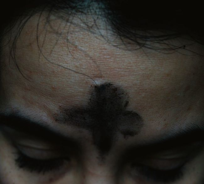 Easter Ready Ash Wednesday Lent Shrove Tuesday Good Friday Easter Monday Catholic Catholicism Jesusculture Christianity Female Portrait Textures And Surfaces Woman Portrait Ashes Ash Cross Ashes On My Forehead Learn & Shoot: Balancing Elements