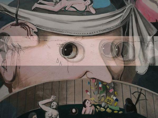 Street art, Torino - may '17 Art Street Photography Streetart Murales Torino Psicadelic Eyes