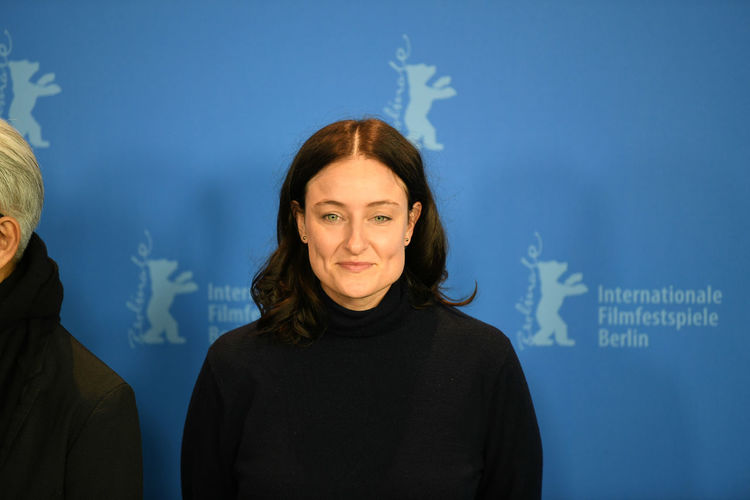 Celebrity Event Fame Famous Film Festival Jury Photocall Press The Media Arts Arts Culture And Entertainment Berlinale Berlinale 2018 Celebrities Film Industry Looking At Camera Mass Media One Person People Portrait