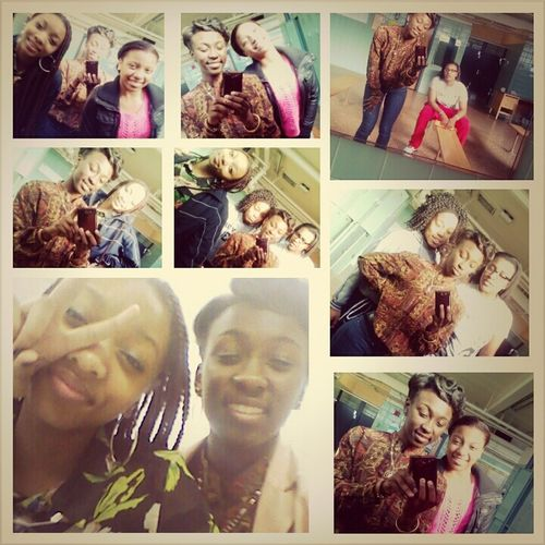 Me And My Lovelys Today <3