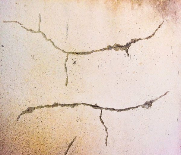Old Cement Wall Old Cement Floor Close-up White Background White Color Ink Painted Image Backgrounds Textured  Paint Abstract Paper Cracked Textured Effect Pattern