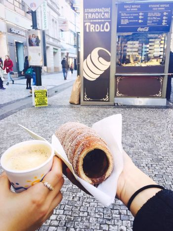 Trdlo for Breakfast☕️ Breakfast Trdlo Praha Coffee Yummy Czech Republic