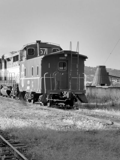 Black And White Landscape Taking Photos Industrial Rail Transportation Exploring Outdoors Transportation Old Railcar Wigwam Burner Beehive Burner Monochrome Photography