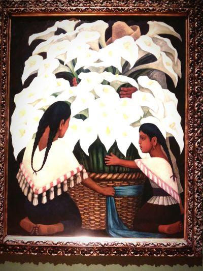 Puro Mexicano Diego Rivera Vendedora De Alcatraces Arte Arte Nacionalista
