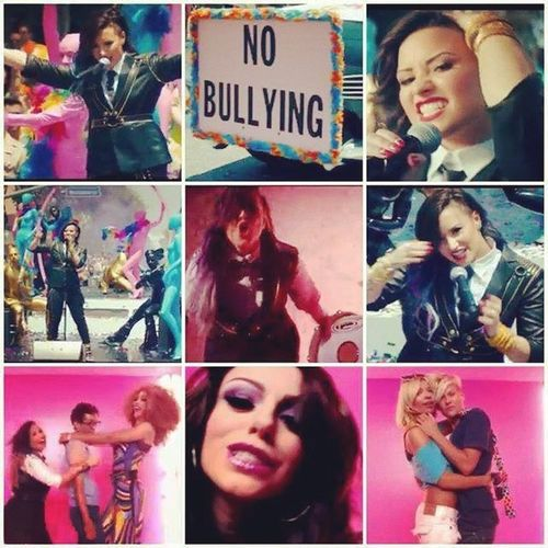 Oseaaa' El video es lo beeest de lo best.. MyIdols Demi Lovato LovaticOfHeart Cher Lloyd BratOfHeart ForeverAndAlways Best crazy NoBullying amazing music ReallyDon'tCare Perfect