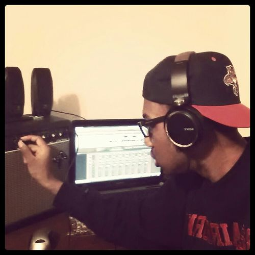 Doing What I Love..producing Music.  ♥ #24KGM