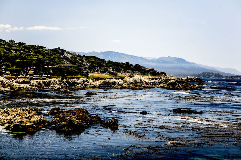 17 Mile Drive Beauty In Nature California Famous Place House Lake Lakeshore Mountain Mountain Range Nature Outdoors Reflection River Scenics Sea Seascape Standing Water Tranquil Scene Tranquility Vacations Water Waterfront