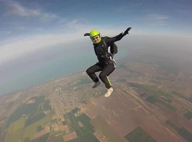 Skydive Enjoying Life Enjoying The View Skydiving @ Kiliti skydive Balaton Adrenaline Junkie