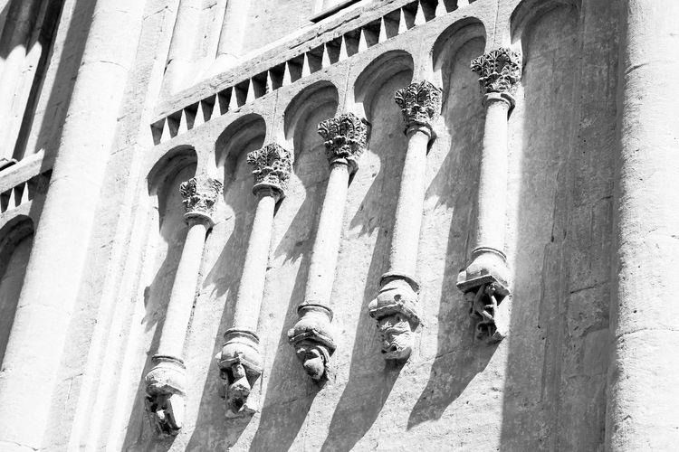 White stone church Architecture Ancient Unesco