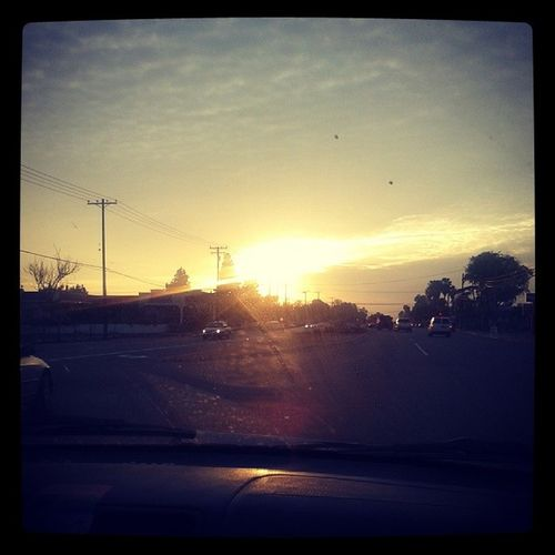 I captured this pik of The Sun Setting earlier today.... I♡photography