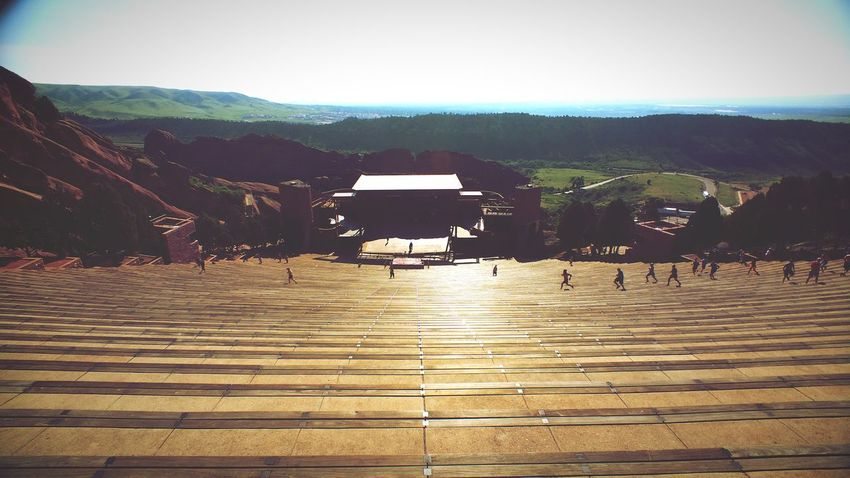 Momentwide , Red Rocks Amphitheater exploring on a Sunday morning with Allison