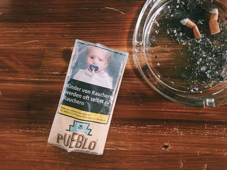 Baby Smoking Cigarettes 👌💕 Marketing Ashtray