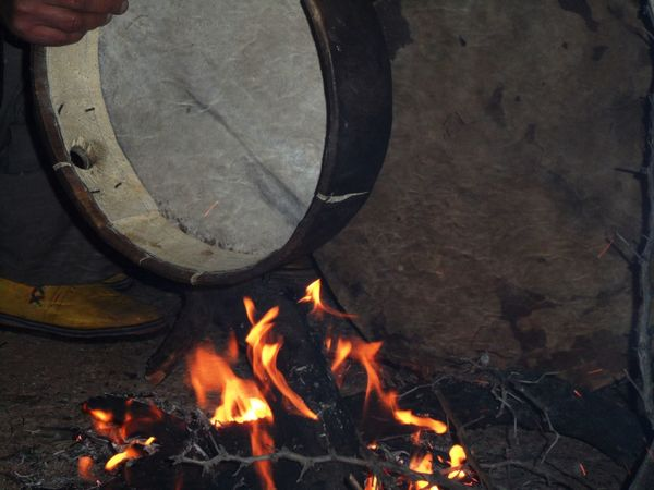 Morocco Amazigh Tafraout Idaougnidif Sousse Fire Night