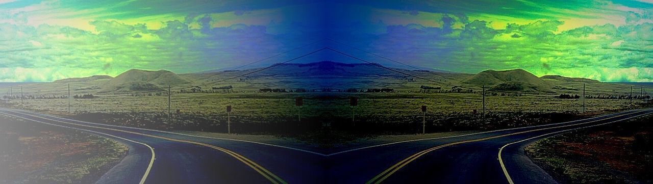 Crossroads Choice HighwayToHell Clouds And Sky Colorsky Deceptively Simple Loneliness No People