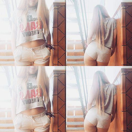 Blonde Girl Picoftheday Goodafternoon ✌ Summer ☀ Likeforlike That's Me BigBooty Hello World Longhair