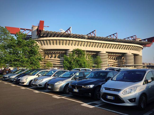 San Siro ⚽️ SanSiro Milano Derby Stadium Intermilan  Love Picoftheday Photooftheday Better Together Match