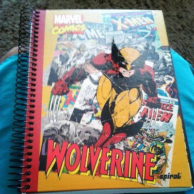 Caderno novo *0* Xmen Wolverine Zica Segundao 2014