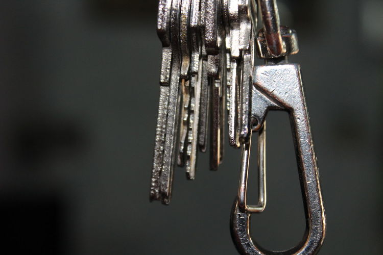 Close-Up Of Keys