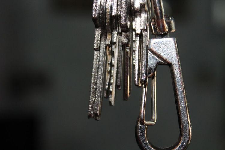 Close-up of keys