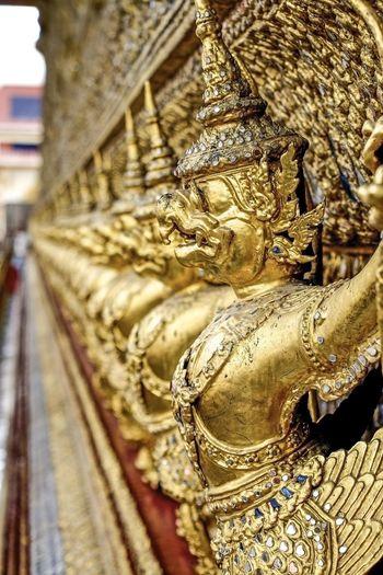 Bangkok Thailand. Palace Gold Buddha