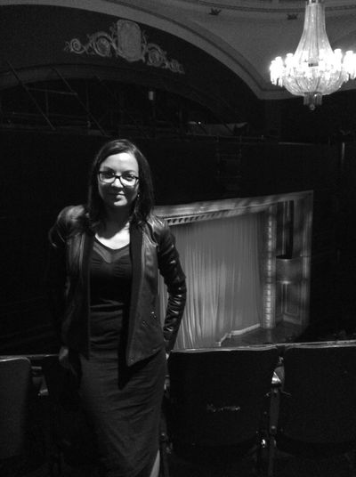 Union Square  Theater 39steps Saturdaynight Hanging Out Blackandwhite That's Me Great Performance Having Fun
