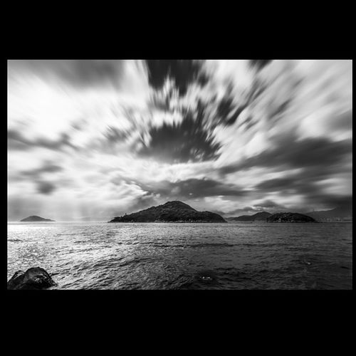 With Each Passing Day !! Blacknwhite Landscape Clouds Serenity Seascape The_photosociety