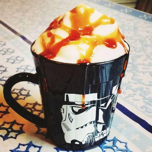 Coffee caramel, café de caramelo Coffee ☕ Frapucchino☕ starwars Coffe Time Coffee Mug ,Food And Drink Frappuccino Coffee Cup Coffee - Drink