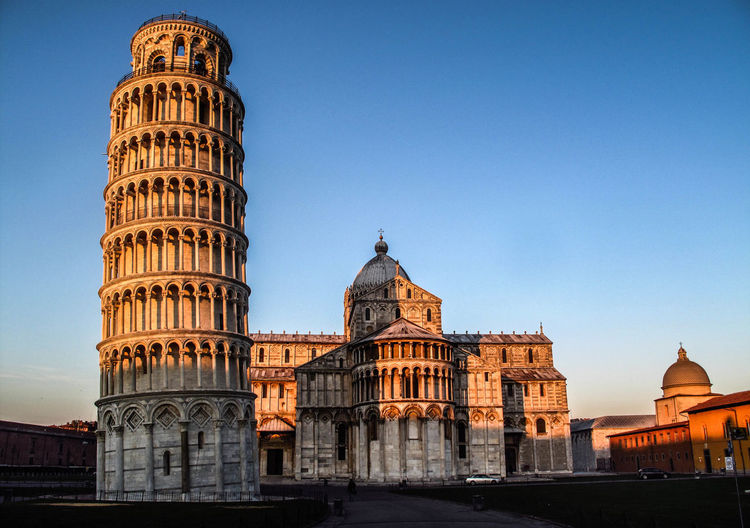 Piazza dei miracoli Architecture Built Structure Building Exterior Sky The Past Travel Destinations History Travel Tourism Clear Sky City Building No People Low Angle View Blue Dome Copy Space Outdoors Ancient Civilization Government Nature Pisa Piazza Dei Miracoli