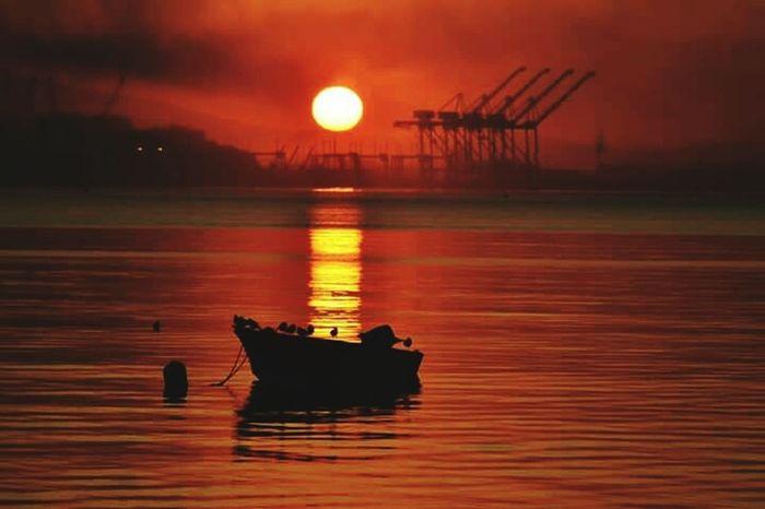 Sun Sunset First Eyeem Photo Photography EyeEm Nature Lover Sea Seaside Nature