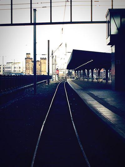 Railway into Newcastle Newcastle Upon Tyne