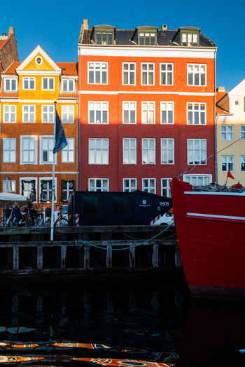 Building Exterior Built Structure Architecture Water Nautical Vessel City Transportation Mode Of Transportation Canal Building Residential District Moored No People Reflection Nature House Waterfront Day Sky Row House Outdoors Sailboat