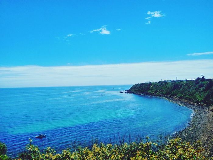 Secret spot Mornington Sea Blue Horizon Over Water Landscape Beach Scenics Beauty In Nature Nature Outdoors Coastline Tranquility Sky Day No People Water First Eyeem Photo