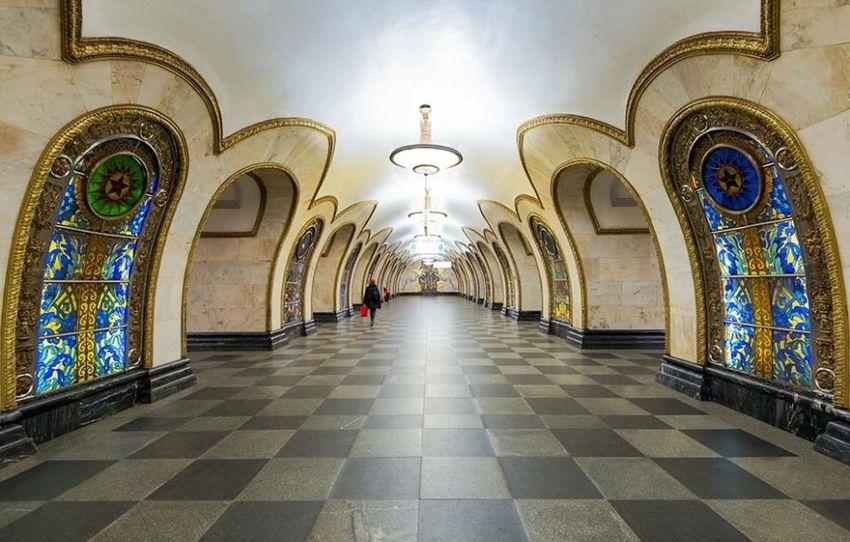 Metropolitan Taking Photos Novoslobodskaya Rus 🇷🇺 😚 красота метрополитен