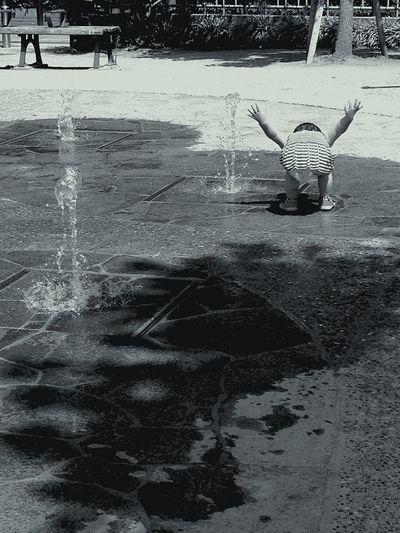 水遊び 夏の思い出 なつのおもいで Summer2015 暑い しゃぶしゃぶ Enjoying The Sun Sunny Day Baby Girl