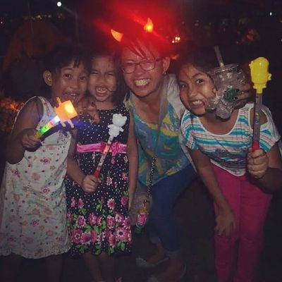 I miss these kiddos! Titaduties Halloween Nieces Love family happy scaryface funny auntme