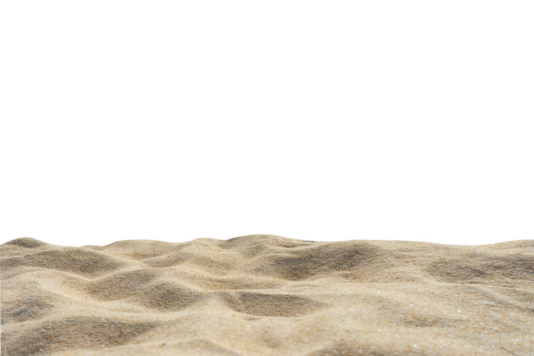 Beach sand texture idolated Di-Cut white background. Isolated On White Textured  Beach Summer Sand Pattern Yellow Brown Copy Space Land Desert Sky Tranquility Nature Arid Climate Clear Sky Beauty In Nature Climate Scenics - Nature Landscape No People Sand Dune Day Tranquil Scene Environment Non-urban Scene Outdoors The Great Outdoors - 2019 EyeEm Awards