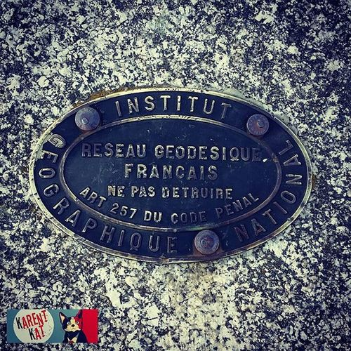 MénezHom point Géodésique Bretagne Finistere