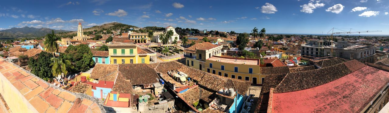 View of Trinidad Panorama Roof Trinidad Cuba Built Structure Building Exterior Architecture Nature Sunlight Day Travel First Eyeem Photo
