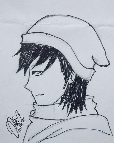 Waiting Mr. Yamatama Ken, really i miss u !!!Hello World Hi! That's Me Animelover Manga: Fan Art Mangaart Taking Photos Adachi Japanese  JapaneseStyle Anime Drawing Anime