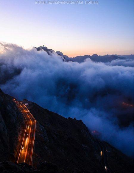 El hada road while sunset 🌅 Cloud - Sky Nature Sunset Landscape 💃💃💃💃
