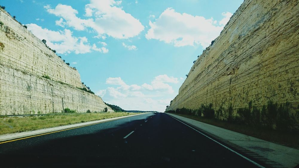 Man-made cliffs in West Texas Travel Moving