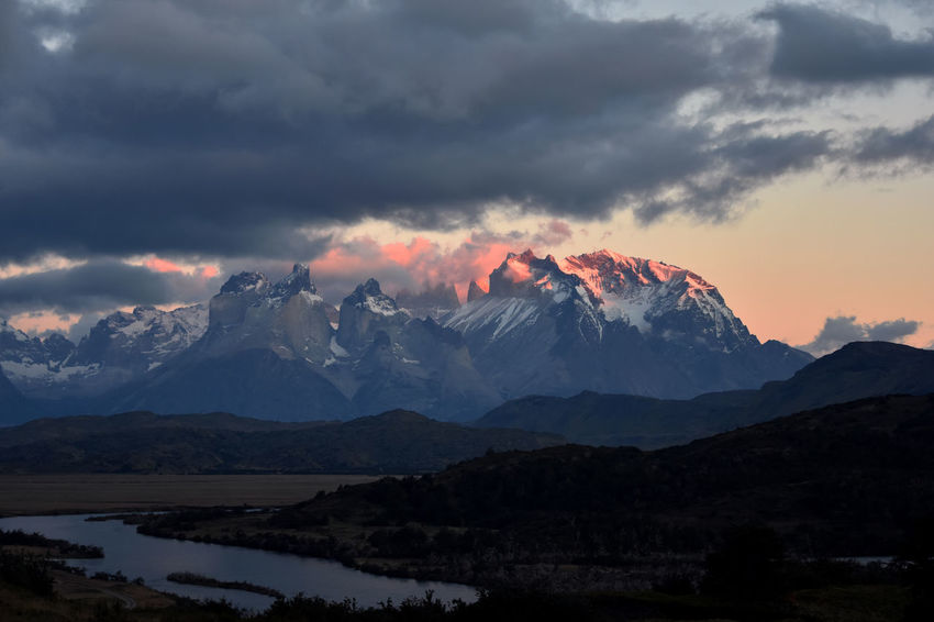 Chile Mountain Sunrise Mountains Mountains And Sky Patagonia Patagonia Chilena Sunrise Sunrise_Collection Sunrise_sunsets_aroundworld Torres Del Paine TorresDelPaine